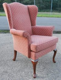 SOLD - Parker Knoll Hartley Wing Upholstered Armchair